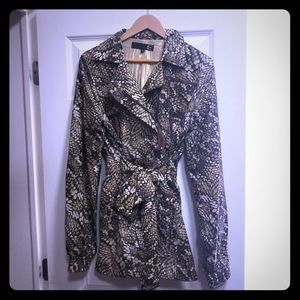 Just Cavalli Women's Raincoat size EU 46 LIKE NEW